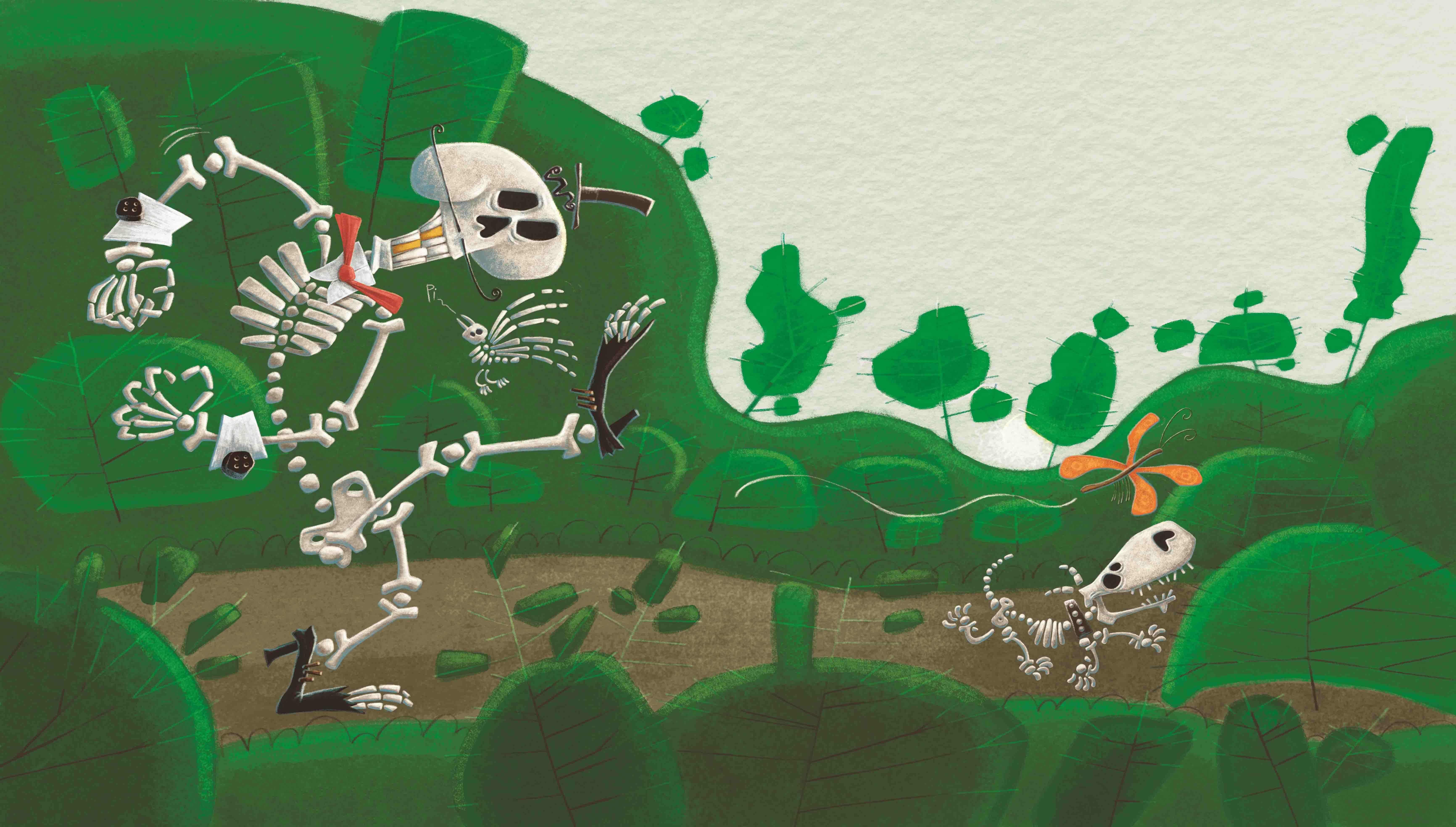 El esqueleto coqueto - La Guarida Ediciones